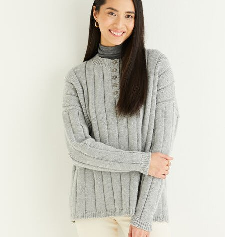 Sweater in Hayfield Soft Twist